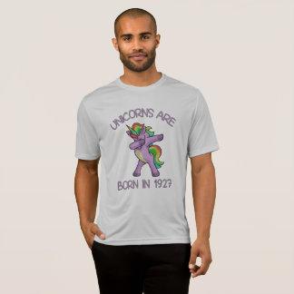 Unicorns are Born in 1927 Cute Dabbing Dance Pose T-Shirt