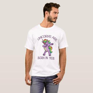Unicorns are Born in 1928 Cute Dabbing Dance Pose T-Shirt