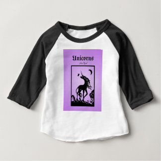 Unicorns are Real Baby T-Shirt