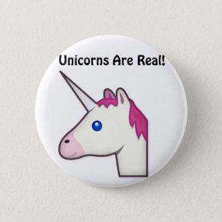Unicorns Are Real Button! 2 Inch Round Button