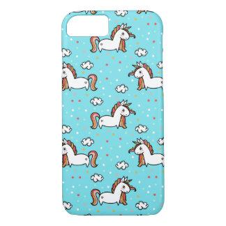 Unicorns & Confetti Pattern iPhone 8/7 Case