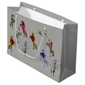 Unicorns Custom Gift Bag - Large, Glossy