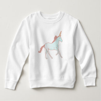 Unicorns Cute Toddler Fleece Sweatshirt