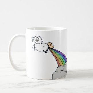 Unicorns Fart Rainbows Coffee Mug