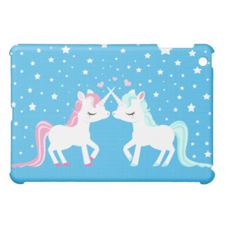 Unicorns in love Ipad case