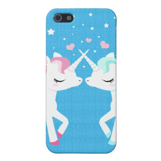 Unicorns in love Iphone case customisable Case For The iPhone 5