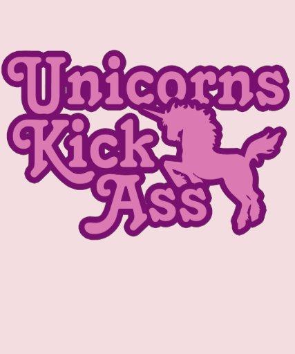 Unicorns Kick womens 80s Shirt