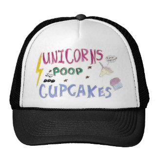 Unicorns POOP Cupcakes Trucker Hat