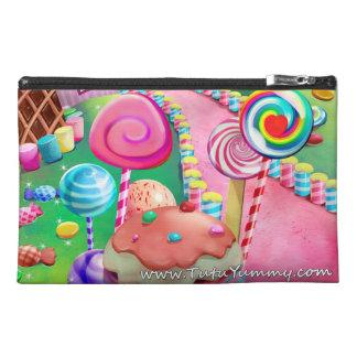 Unicorns, Rainbow and Candy Makeup Bag