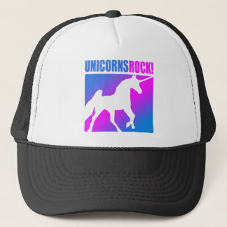 Unicorns Rock #4 Trucker Hat