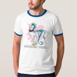 Unicorns Rock! men's tee
