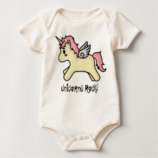 Unicorns Rock [Pink] Infant Creeper
