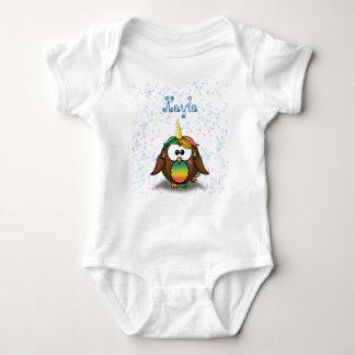 unicowl baby bodysuit