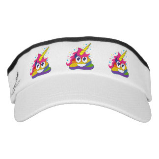 Unicron Rainbow Emoji Poo Visor