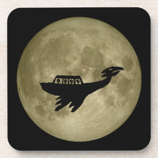Unidentified Flying Object Beverage Coaster