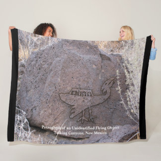 Unidentified Flying Object Fleece Blanket