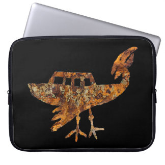 Unidentified Flying Object Petroglyph Laptop Computer Sleeves