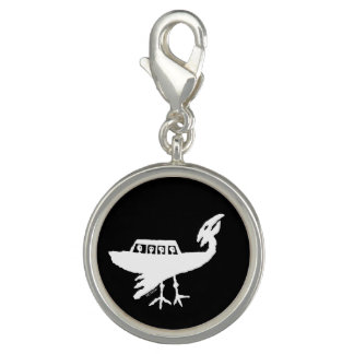 Unidentified Flying Object Petroglyph Photo Charms
