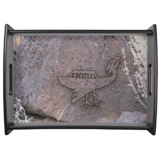 Unidentified Flying Object Serving Tray