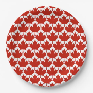 Unified Canada Day Party Paper Plates
