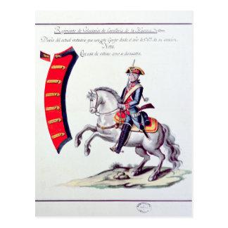 Uniform of the Volunteers Postcard