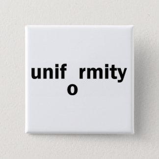 uniformity 2 inch square button