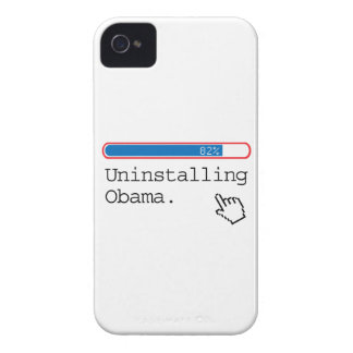 UNINSTALLING OBAMA Case-Mate iPhone 4 CASE