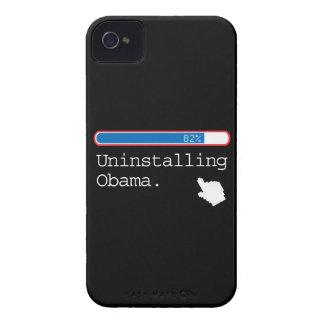 UNINSTALLING OBAMA iPhone 4 Case-Mate CASE