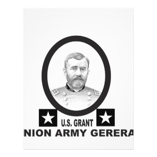 union army general US grant Customized Letterhead
