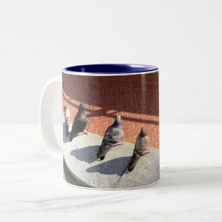 Union Birds Two-Tone Coffee Mug