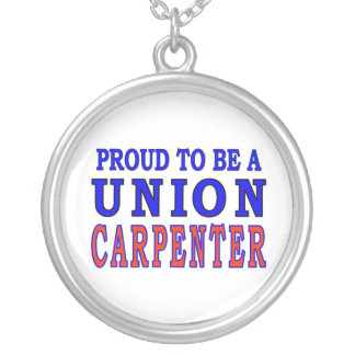 UNION CARPENTER SILVER PLATED NECKLACE