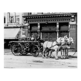 Union Engine No. 3: 1911 Postcard