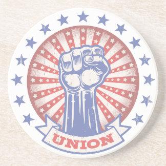 Union Fist 817 Coaster