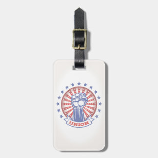 Union Fist 817 Luggage Tag