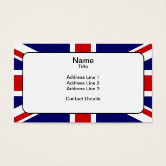 Union Flag Business Card