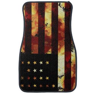 Union Flag, Civil War, Stars and Stripes Car Mat
