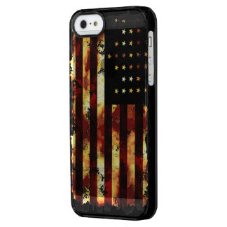 Union Flag, Civil War, Stars and Stripes Uncommon Clearly™ Deflector iPhone 5 Case