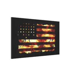 Union Flag, Civil War, Stars and Stripes, USA Canvas Print