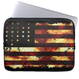 Union Flag, Civil War, Stars and Stripes, USA Laptop Computer Sleeves