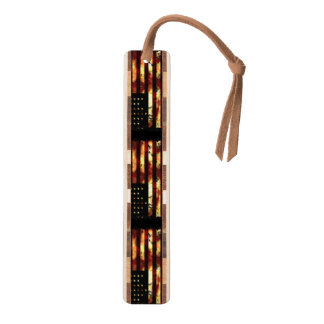 Union Flag, Civil War, Stars and Stripes, USA Walnut Bookmark