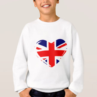 Union Flag Heart Sweatshirt