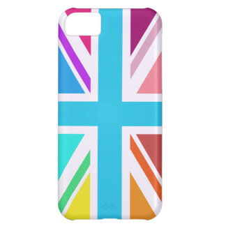 Union Flag/Jack Design - Multicoloured iPhone 5C Cover