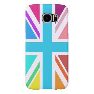 Union Flag/Jack Design - Multicoloured Samsung Galaxy S6 Cases