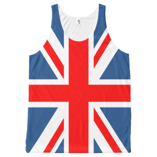 Union Jack All-Over-Print Tank Top