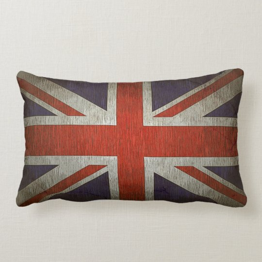Union Jack American MoJo Lumbar Pillow