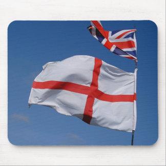 Union Jack and England Flag Mouse Pad