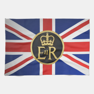 Union Jack and Royal Jubilee. Kitchen Towel