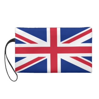 Union Jack Bagettes Bag Wristlet Purse