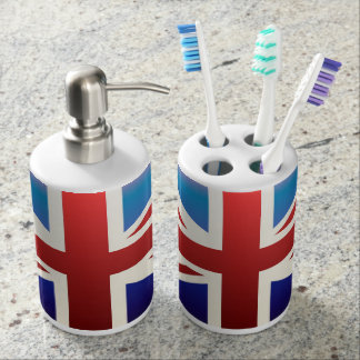 Union Jack bathroom set