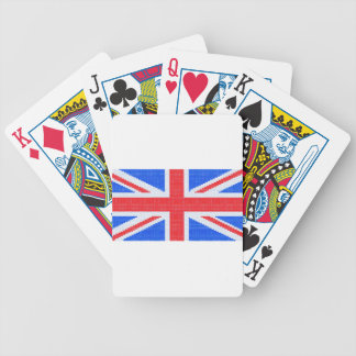 Union Jack Bicycle Playing Cards
